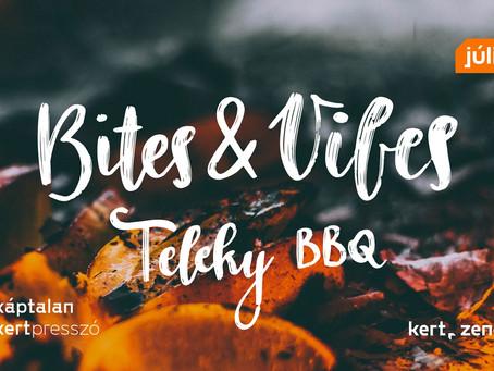 Zenés BBQ hétvége a Káptalan Kertben!