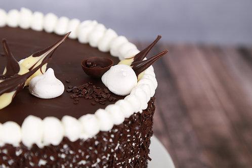Gesztenye torta (Tejszínes alap)