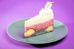Meggyes mákos guba torta