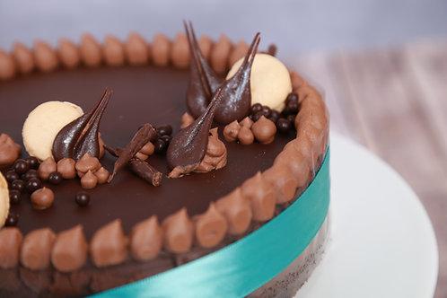 Belga csoki torta (Cukormentes)