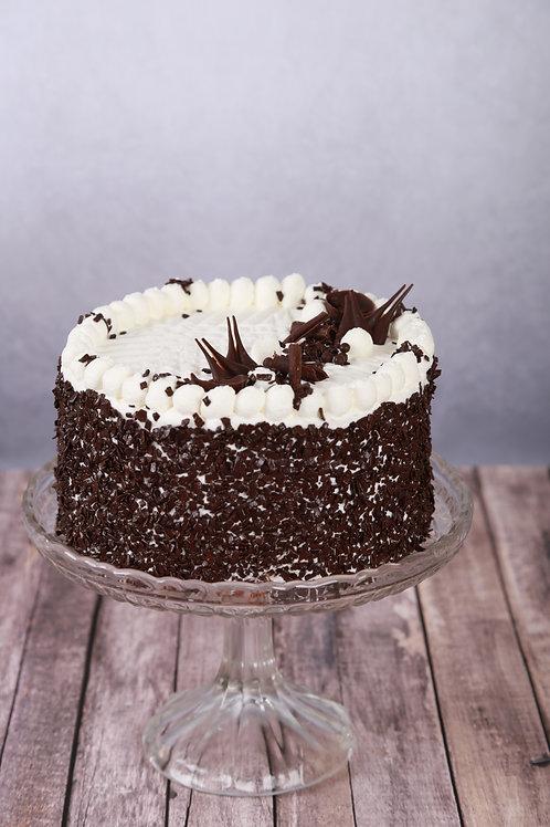 Csokoládé torta (Tejszínes alap)