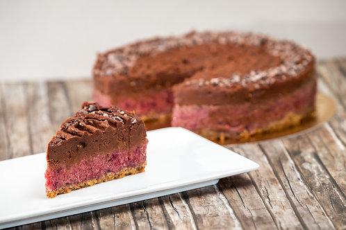 Szilva - csoki élő torta