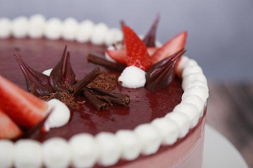 Epres-bazsalikomos torta (Szénhidrátcsökkentett)