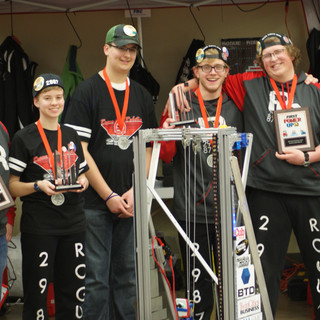 Awards with Drive Team