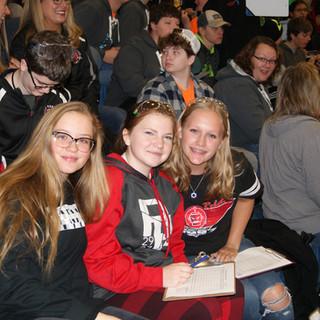 Sydney, Bridget, and Cami scouting
