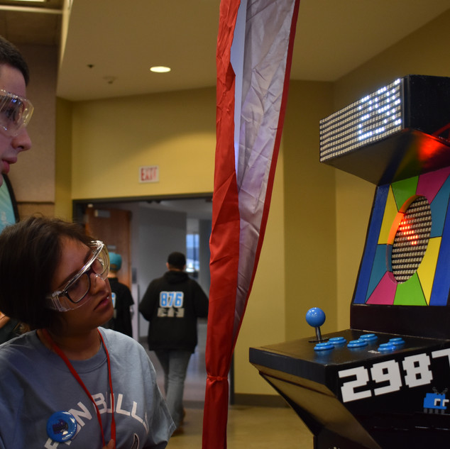 Our Arcade Machine