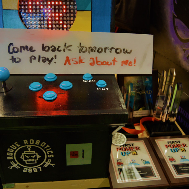 Our Arcade Machine