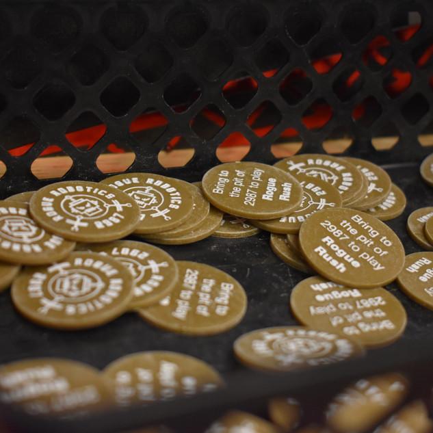The Arcade Macine's Coins