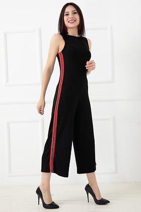 Back Zipper Jumpsuit