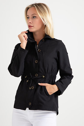 Buttoned Trench