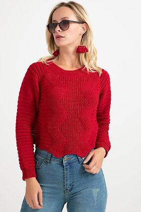 Short Knitwear Sweater