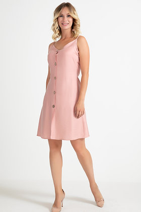 Hanging Rope Buttoned Dress