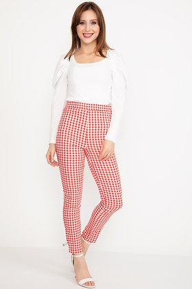 Red Stylish Pants