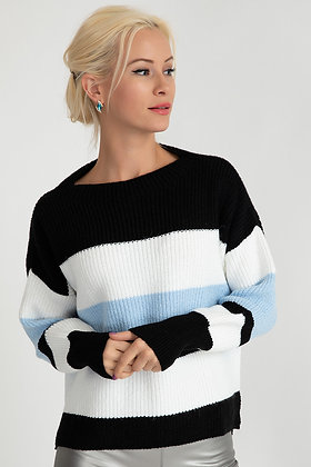 Zipper Detailed Knitwear Sweater