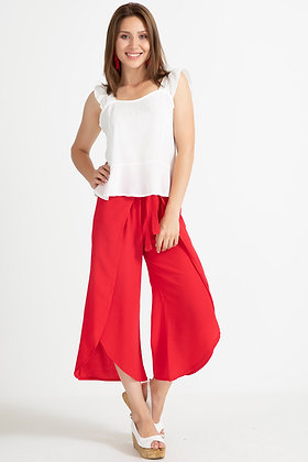 Lace-up Baggy Trousers