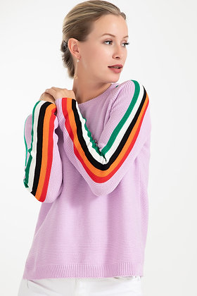 Sleeve Detailed Knitwear Sweater