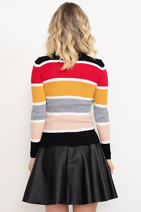 Colorful Knitwear Sweater