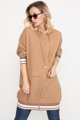 Hooded Long Trench