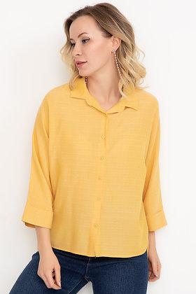 Patterned Capri Sleeve Shirt I