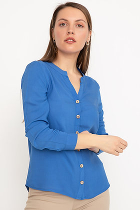 Judge Collar Buttoned Shirt