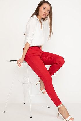 Jeans Red & Blue