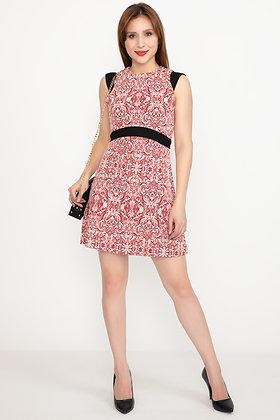 Belted Short Dress