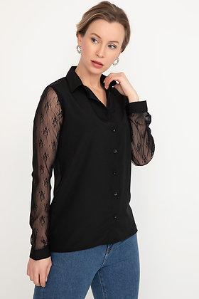 Sleeve Lace Shirt