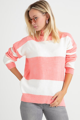 Knitwear Thick Striped Sweater