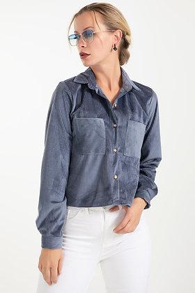 Ribbed Short Shirt