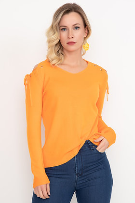 Shoulder Detail Knitwear Sweater