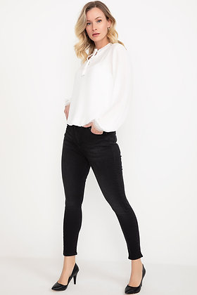 Shaded Black Jean Pants