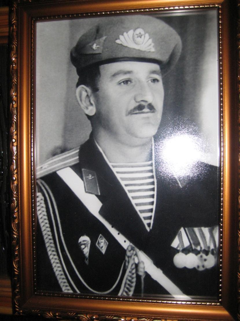 Бывший  командир  12-ой  ОБрСпН ГРУ  Масалитин  Михаил  Петрович