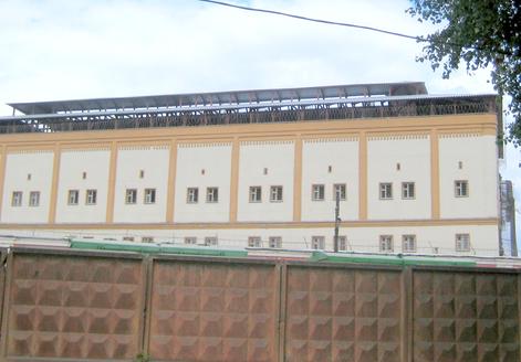 «Реснички»   на  окнах  СИЗО  остались  даже  в  Москве.