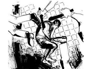 КРОВЬ СТАРИЧЕНКОВА А.Н. НА СТЕНАХ КАМЕРЫ ШИЗО  ГОСПОЖА МЕРЗЛЯКОВА Т.Г. СМОТРЕТЬ ОТКАЗАЛАСЬ,  НО С УД