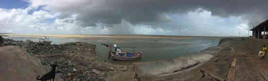 Fishing boat in harbor near São Luis, Maranhão