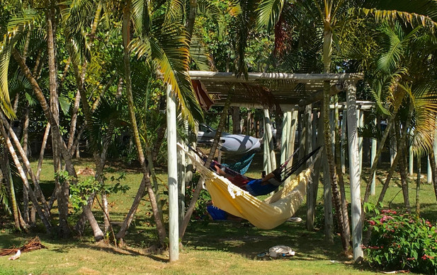 Napping Hammocks at University, Bahia