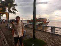 Jens Hegg in Belém, Brazil for collaboration meeting
