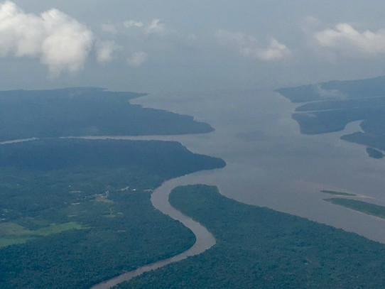 Amazon River and Tributary