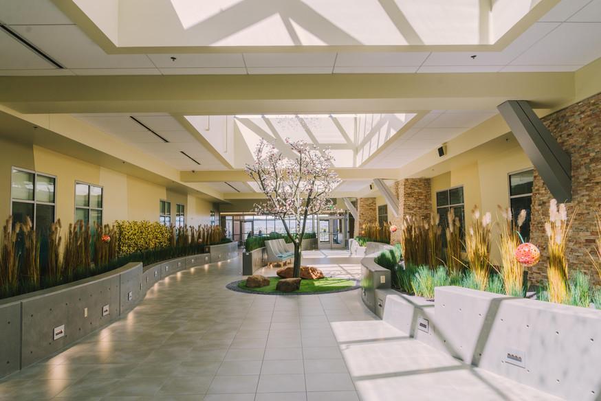 NICU Healing Garden | St. Francis | Coloado Springs, CO