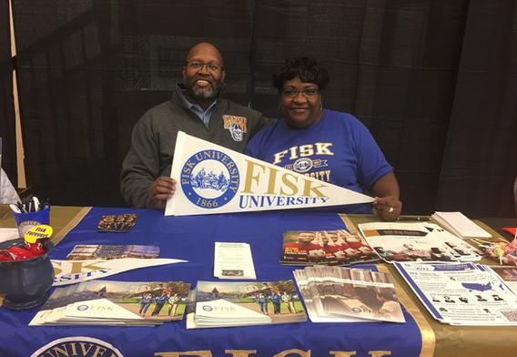 HBCU College Fair at Mt. Calvary Baptist Church (November 3, 2018)