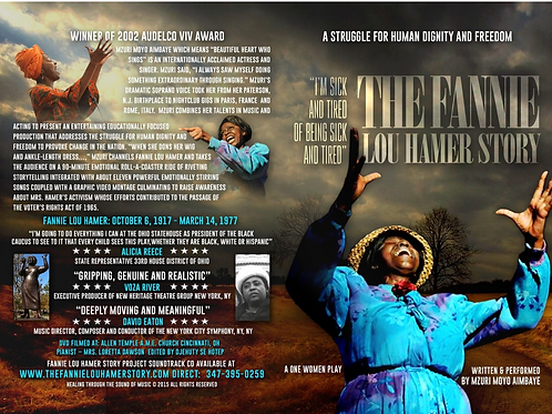 The Fannie Lou Hamer Story DVD