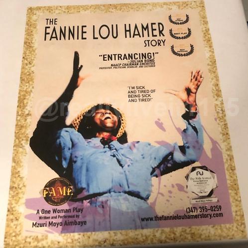 The Fannie Lou Hamer Story  T-Shirt