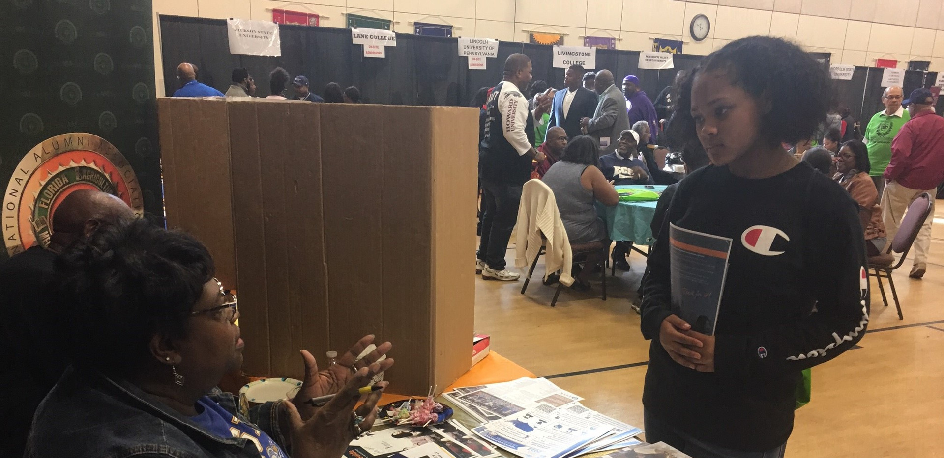 HBCU College Fair at Mt. Calvary Baptist Church (November 3, 2018)