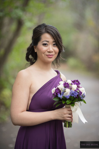 Bridesmaid at Toogood Pond | THE ONE BRIDAL