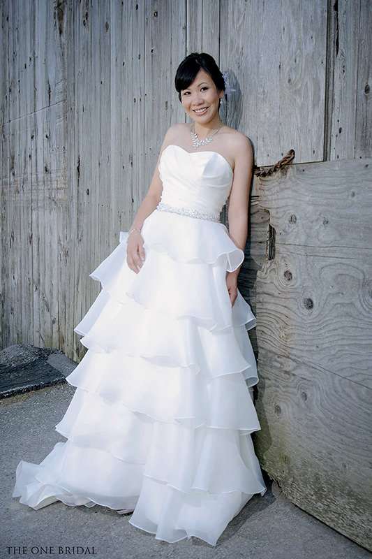 Wedding Dress by THE ONE BRIDAL