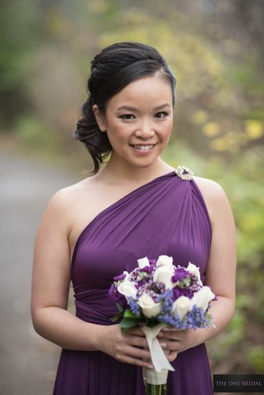 Bridesmaid at Toogood Pond   THE ONE BRIDAL