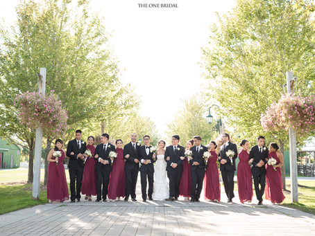 Bridal Party Photoshoot at Richmond Green