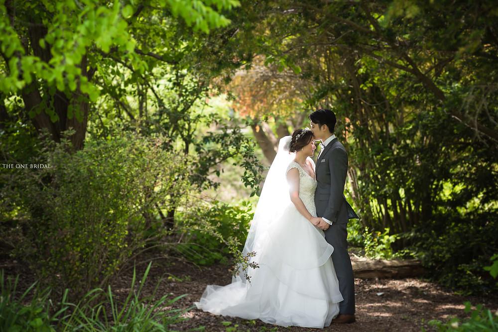 Toronto Alexander Muir Memorial Gardens Wedding Photos