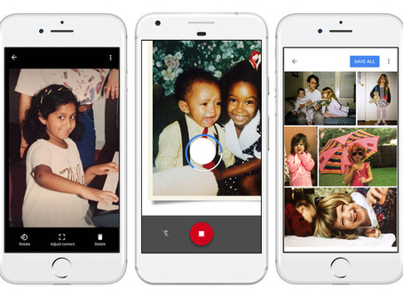 Google PhotoScan Scans Your Baby and Teenage Photos for Your Wedding