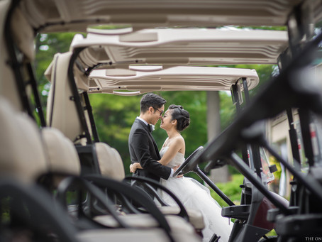 Bayview Golf and Country Club Wedding Photo